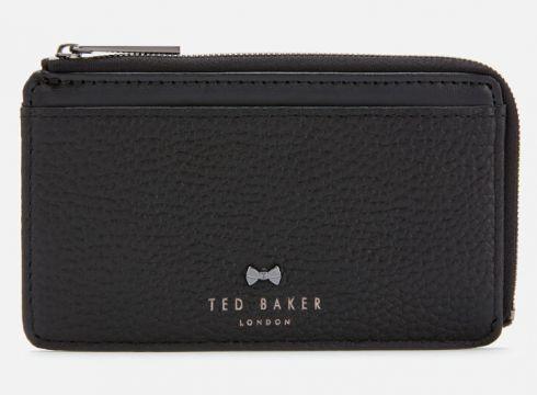 Ted Baker Women\'s Lotta Bow Detail Credit Card Holder - Black(89244959)