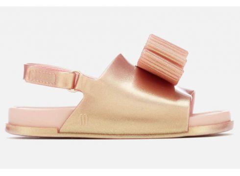 Mini Melissa for Jason Wu Toddlers\' Beach Slide Luxe Sandals - Rose Gold - UK 4 Toddler - Rosa(56901958)