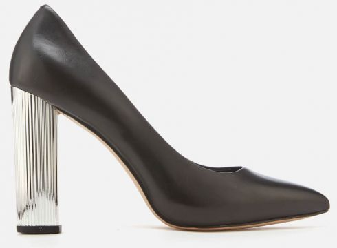 MICHAEL MICHAEL KORS Women\'s Paloma Patent Court Shoes - Black - US 6/UK 3 - Schwarz(50504767)