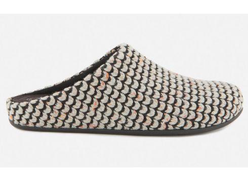 FitFlop Women\'s Chrissie Knit Mule Slippers - Pearl - UK 3 - Bunt(58782736)