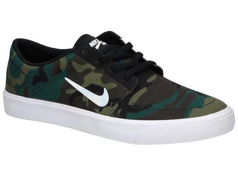 Nike SB Portmore Canvas Sneakers zwart(85189001)