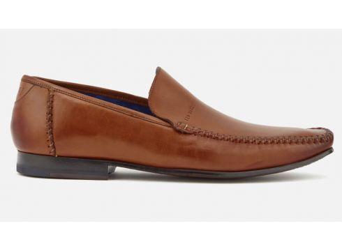 Ted Baker Men\'s Bly 9 Leather Slip-On Loafers - Tan - UK 7 - Tan(50507142)