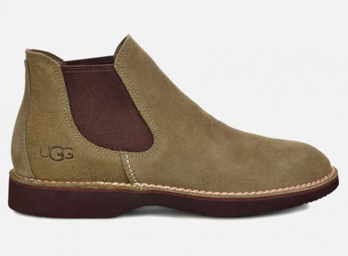 UGG Men\'s Camino Suede Chelsea Boots - Taupe - UK 7 - Brown(59271522)