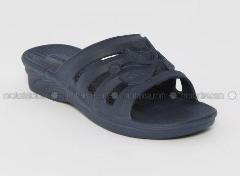 Navy Blue - Sandal - Slippers - Gezer(110328607)