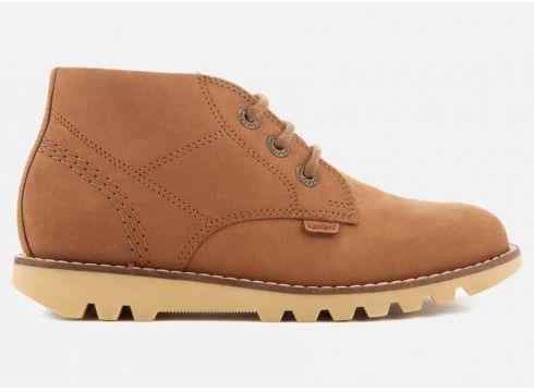 Kickers Kids\' Kymbo Chuk Boots - Tan - UK 7 Infant/EU 24 - Tan(50502665)