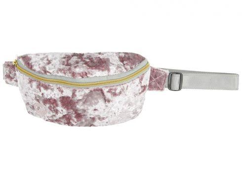Mi-Pac Bum Crushed Velvet Hip Bag roze(95390510)