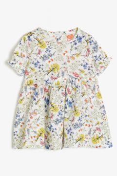 Koton Kız Çocuk Desenli Elbise(108901095)
