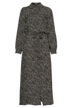 Dress Kleid Knielang Schwarz SOFIE SCHNOOR(120942836)