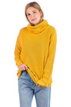 Iriedaily Mock Turtle Knit Pullover geel(97231224)