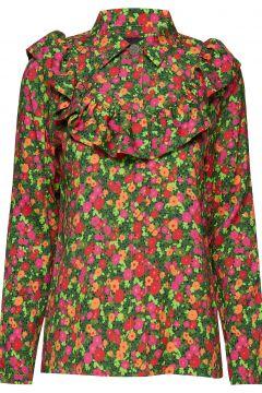 Iris Shirt Bluse Langärmlig Grün BIRGITTE HERSKIND(114151009)