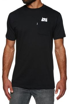 Rip N Dip Lord Nermal Pocket Kurzarm-T-Shirt - Black(107851601)