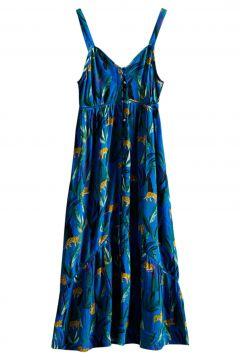 Superdry Daisy Midi Kleid - Blue Aop(118166073)