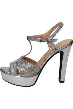 Sandales Allison sandales argent textile BZ304(115393992)