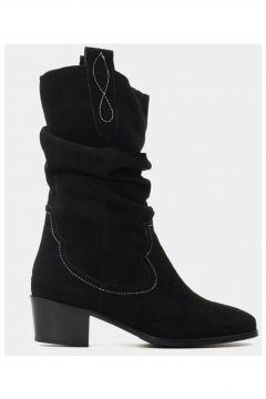 Hotiç Siyah Kadın Topuklu Bot(113619469)