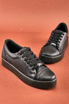 Bambi Siyah Kadın Sneaker(124426761)