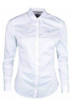 Chemise Tommy Jeans Chemise ultra fine blanche pour femme(115399706)