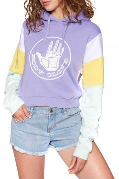 Body Glove Heritage Logo Damen Kapuzenpullover - Frosted Lavender(100273248)