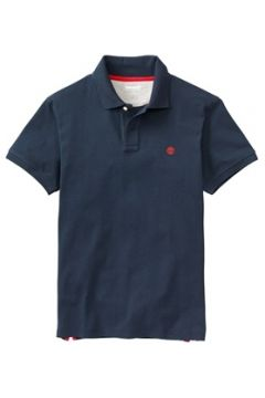 Timberland Erkek SS MR Regular Fit Lacivert Polo T-shirt L EU(113466213)