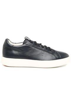 Santoni Sport Erkek Lacivert Deri Sneaker 6 UK(108579442)