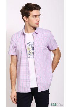Мужские рубашки с коротким рукавом(109015303)