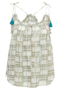 Top Ananas Lurex - Damenkollektion(117376019)