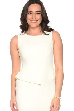 Ekol Bel Detaylı Elbise(113949351)