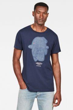 G-Star RAW Men Graphic 10 T-Shirt Dark blue(117927592)