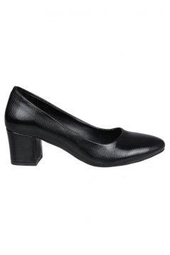 PUNTO Siyah Rugan Kadın Stiletto(114215088)