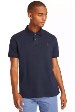 Timberland TB0A1YQV4331 Ss Mr Polo Reg Lacivert Polo T-Shirt(126399914)