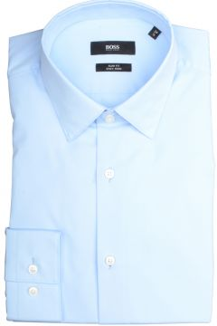 Hugo Boss Overhemd Isko Blauw Slim fit 50427541/452(110997838)