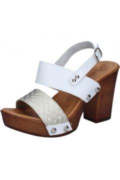 Sandales Made In Italia sandales platino cuir blanc BY515(115401153)