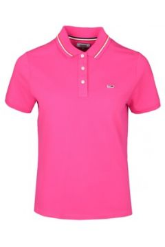 Polo Tommy Jeans Polo ample rose pour femme(98540859)
