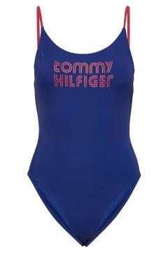 -Piece High Leg Badeanzug Bademode Blau TOMMY HILFIGER(114155854)