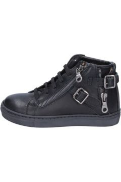 Chaussures enfant Holalà sneakers noir cuir BT358(115442804)