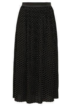 ONLY Plissée Jupe Longue Women Black(120080188)