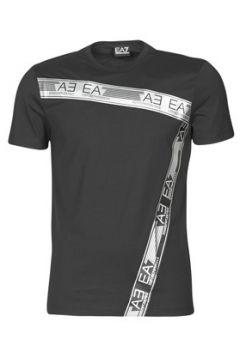 T-shirt Emporio Armani EA7 TRAIN LOGO SERIES M PRINT TAPE tee(127960078)