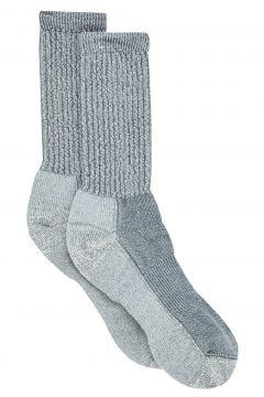 Walking Socks Femme Smartwool Hike Light Crew - Light Grey(115690340)