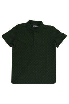 Lee Cooper Nature K. Yeşil Polo Yaka T-Shirt(116992299)