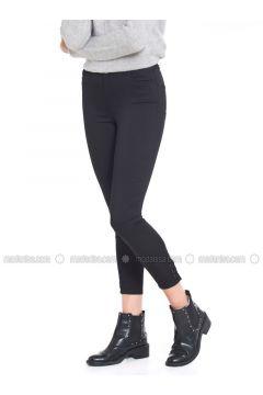 Black - Pants - LC WAIKIKI(110330875)