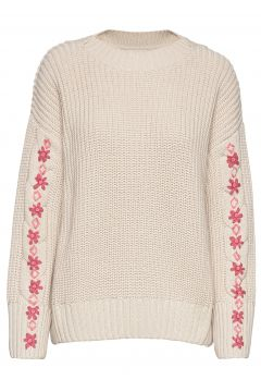 Oh Wow Sweater Strickpullover Creme ODD MOLLY(114155625)