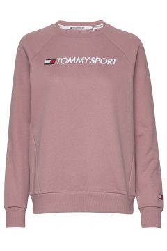 Crew Sweater Logo Sweat-shirt Pullover Rot TOMMY SPORT(116414400)