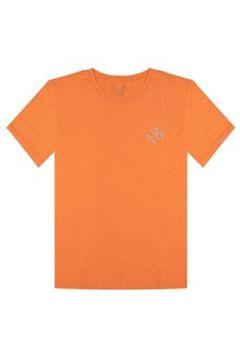 Bassigue Erkek Binoculars Turuncu Basic T-shirt S EU(118330281)