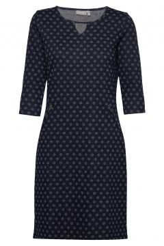 Frhidotly 1 Dress Kleid Knielang Blau FRANSA(100850391)
