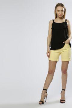 Limon Kadın Sarı Şort(123420391)