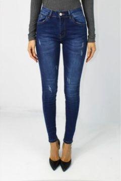 Jeans skinny Kebello Jeans Slim délavage moyen F Bleu(115441471)