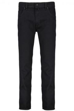 Pioneer: Klassische Stretch-Jeans in Five-Pocket-Form, 62, Schwarz(109208222)