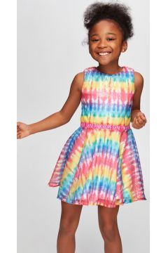 Tyess B&G Renkli Kız Çocuk Elbise(114005911)