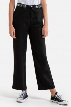 Pantalón recto con cinturón bordado SIMON(111099260)