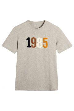 Camiseta con cuello redondo de manga corta y motivo 1985(116705383)