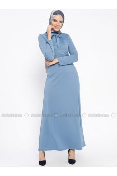 Baby Blue - Polo neck - Unlined - Dresses - PINK APPLE(110313842)